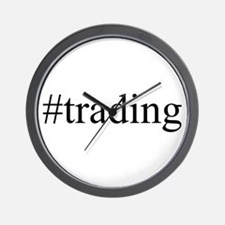 #trading Wall Clock