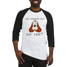 DOG PARK Baseball Jersey