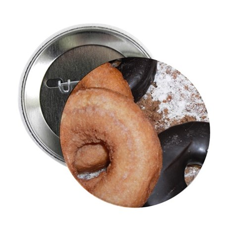 """Donuts 2.25"""" Button (100 pack)"""