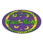 NOLA Water Meter Oval Sticker