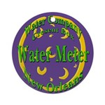NOLA Water Meter Ornament (Round)