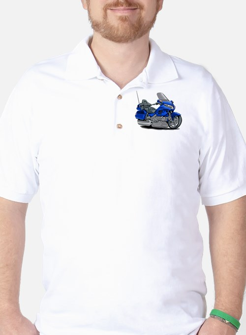 Goldwing Blue Bike T-Shirt