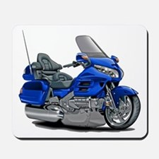 Goldwing Blue Bike Mousepad