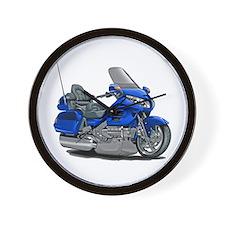 Goldwing Blue Bike Wall Clock