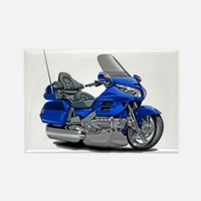 Goldwing Blue Bike Rectangle Magnet
