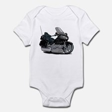 Goldwing Black Bike Infant Bodysuit