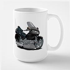 Goldwing Black Bike Large Mug