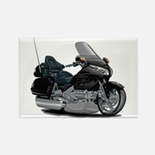 Goldwing Black Bike Rectangle Magnet