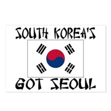 South Korea's Got Seoul! Postcards (Package of 8)