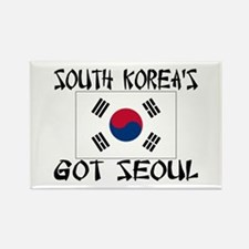 South Korea's Got Seoul! Rectangle Magnet (10 pack