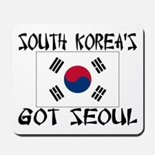 South Korea's Got Seoul! Mousepad