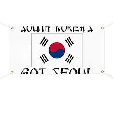 South Korea's Got Seoul! Banner