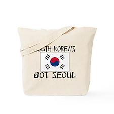 South Korea's Got Seoul! Tote Bag