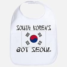 South Korea's Got Seoul! Bib