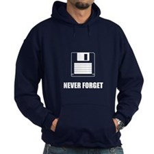 Never Forget Floppy Disks Hoodie