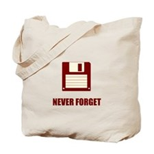 Never Forget Floppy Disks Tote Bag