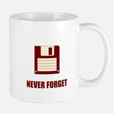 Never Forget Floppy Disks Mug