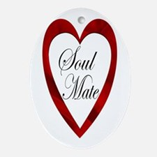 Soul Mate Oval Ornament