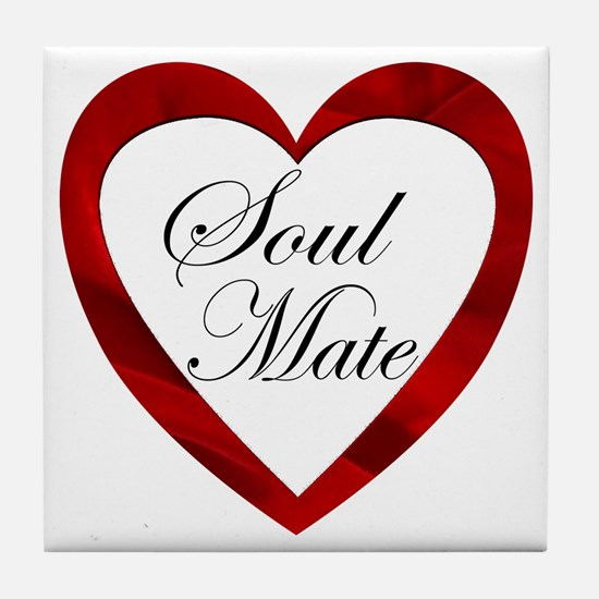 Soul Mate Tile Coaster