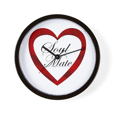 Soul Mate Wall Clock