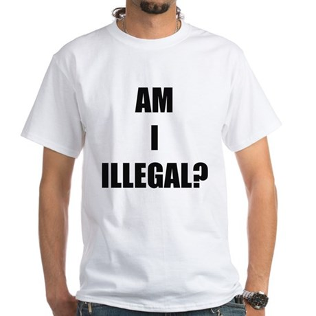 Illegal Front / Citizen Back White