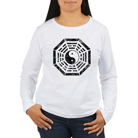Yin Yang Dharma Women's Long Sleeve T-Shirt