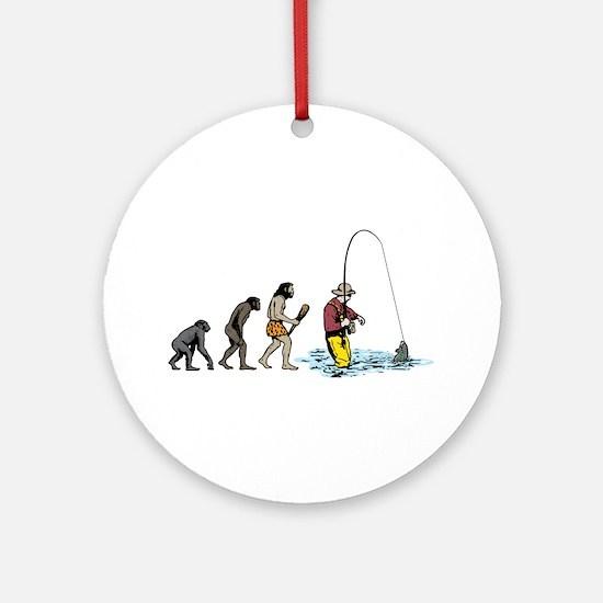 Fishing Ornament (Round)