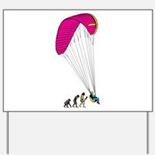 Paragliding Yard Sign