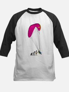 Paragliding Kids Baseball Jersey
