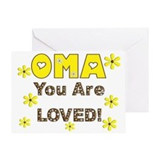 Oma Greeting Cards