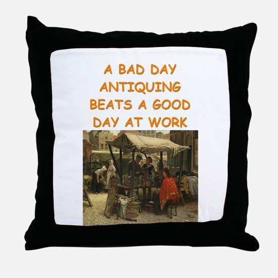 antique gifts Throw Pillow