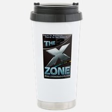 SciFi Blue - X ZONE logo Stainless Steel Travel Mu