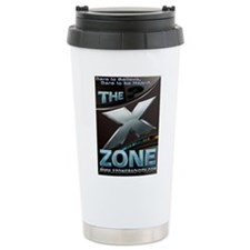 SciFi Blue - X ZONE logo Travel Mug