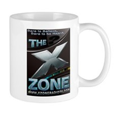 SciFi Blue - X ZONE logo Mug