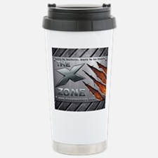 Brushed Steel - X ZONE logo Stainless Steel Travel