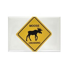 moose crossing pocket copy Magnets