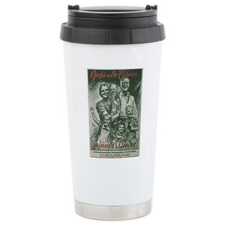 German Family Stainless Steel Travel Mug