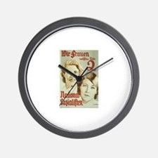 Frauen Wall Clock