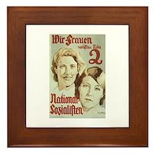 Frauen Framed Tile