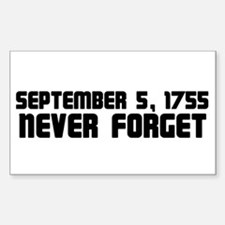 Never Forget Sticker (Square)