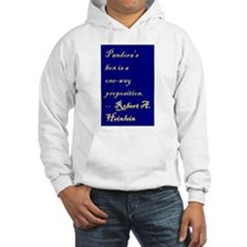 Pandora's box is a one-way proposition. Hoodie