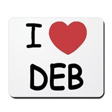 I heart Deb Mousepad