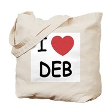 I heart Deb Tote Bag