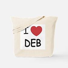 I heart Deb Tote Bag
