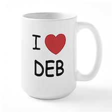 I heart Deb Mug