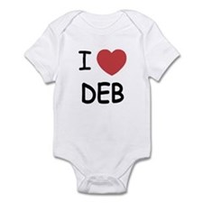 I heart Deb Infant Bodysuit