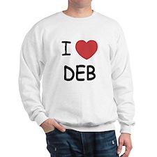 I heart Deb Sweatshirt