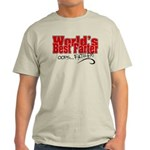 World's Best Farter (oops.. FATHER!) Light T-Shirt