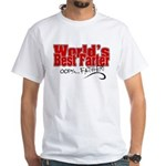 World's Best Farter (oops.. FATHER!) White T-Shirt