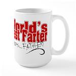 World's Best Farter (oops.. FATHER!) Large Mug